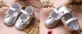 Mothercare Butterfly Knot Silver Shoe  蝴蝶结小银鞋鞋