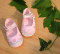 Mothercare Buttons Pink Shoe 纽扣气质鞋鞋