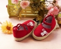 Mothercare Flower Red Shoe 立体花花红鞋子