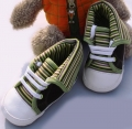 Mothercare Green Stripe Boot 男生横间鞋鞋