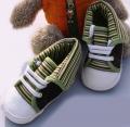 Mothercare Green Stripe Boot 男生横间鞋鞋