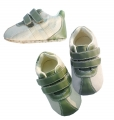 Mothercare Green White Boy Crib Shoe 青白男生鞋