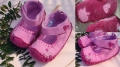 Mothercare Loves Pink Shoe 心心仿皮鞋鞋