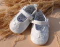 Mothercare Elegant  White Shoe 立体白色小花鞋