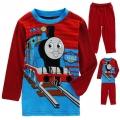 NEXT Thomas Casual Wear/Sleepwear 2 Pcs Set 红色火车头印花针织家居套装