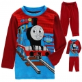 NEXT Thomas Casual Wear/Sleepwear 2 Pcs Set 红色火车头印花针织家居套装