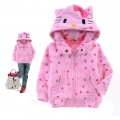 NINSMODA Hello Kitty Pink Jakcet 粉红色满身印花造型衣 (Design 3)