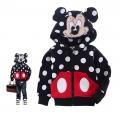 NINSMODA Mickey Black Jakcet 黑色米奇造型衣