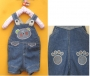 Next Bear and Paw Jeans Short Jeans Overalls  小熊牛仔背带裤
