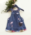 Next Embroidery Flowers Overalls Dress 刺绣背带裙