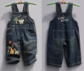 Next Happy Animals Soft Jeans Overalls 快乐动物背带裤