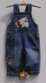 Next Little Puppy Soft Jeans Overalls  小狗狗背带裤