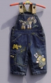 Next Little Patch Horse Soft Jeans Overalls  小马马贴布绣背带裤