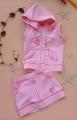 PICCOLINA 2 Pcs Hoodie Pink Set 连帽小套装