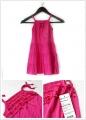 PM Pink Swift Dress 孔雀印花连衣裙