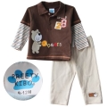 PREETY Bear Brown 2 Pcs Set 小熊啡色二件套