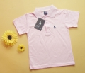 Polo Collar Pink T-Shirt 纯棉短袖有领T恤