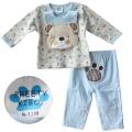 Pretty Kibo Littile Bear Blue 3 Pcs Set 小熊造型三件套