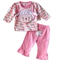 Pretty Kibo Pink Sheep 3 Pcs Set 可爱小羊3件套