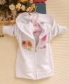 Pumpkin Patch Laybug White Hoodie Jacket 小甲虫白色外套