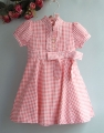 RALPH LAUREN Checker Pink Dress 小方格洋装