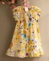 RALPH LAUREN Floral Yellow Dress 大花朵洋装