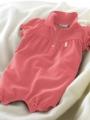 Ralph Lauren Cherry Pink Romper 玫红色哈衣