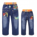 SCB Angry Bird Long Jeans 愤怒的小鸟纯棉洗水牛仔长裤 (Design 1)