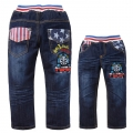 SCB Thomas Train Long Jeans 火车头纯棉洗水牛仔长裤 (Design 4)