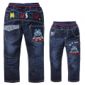 SCB Thomas Train Long Jeans 火车头纯棉洗水牛仔长裤 (Design 5)