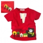 Sago Kids Little Bear Red Top 小熊红色上衣
