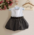Sara Kids Polkadots Tutu Dress  波点洋装