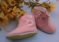 Shalom Flowers Pink Boot 花花粉色靴子