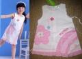 TEDG Flower White Dress 精美贴布绣纯棉白色连衣裙