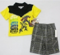 TRANSFORMER Yellow 2 Pcs Set 美单变形金刚2件套