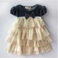 T&Z Lovely Girl White Dress 韩单白色蛋糕气质连衣裙