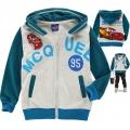 DISNEY Pixar Car Jacket 卡通汽车总动员纯棉毛圈带帽外套  (Design 1)