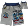 Thomas & Friends Grey Quarters Pant 灰色火车头印花纯棉毛圈短裤(Design 4)
