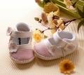 WEIGE Flower Pink Shoe 立体梅花小皮鞋