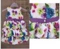 Wonder Kids Floral Layer Dress 印染风泡泡裙