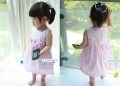 Wonder Kids Polkadots Sweet Pink Dress 花朵款连衣裙