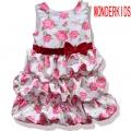 Wonder Kids Roses Layer Dress 花朵蛋糕裙
