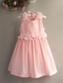 X.B Sweet Dress 立体花花洋装【粉】(Restock)
