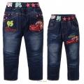 XCW Pixar Car Denim Jeans 汽车总动员纯棉牛仔长裤 (Design 3)