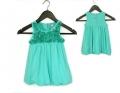 ZARA 3D Roses Blue Tutu Dress 立体花朵女童连衣裙