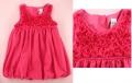 ZARA 3D Roses Cherry Pink Tutu Dress 立体花朵女童连衣裙