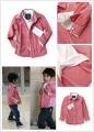 ZARA BOY Red Checked LS Shirt 新款男童假两件衬衣