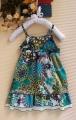 ZARA Blue Spagette Dress 绑腰带洋装