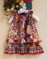 ZARA Brown Dress 热带风情洋装