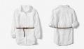 ZARA Embroidered Camisole Top with Belt 女童柔软中长款衬衣衬衫连衣裙
